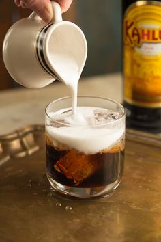 Coconut Milk White Russians — A Thought For Food
