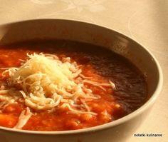 Bułgaria: Domatene Supa - pomidorowa z kluskami