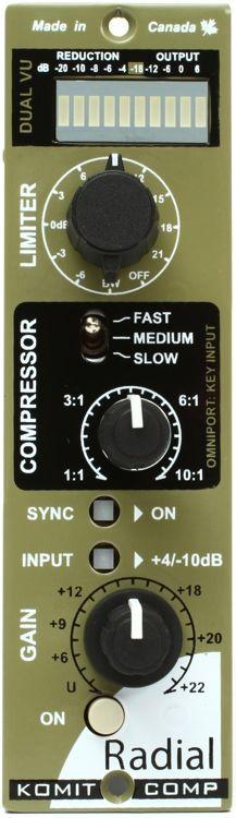 1-channel Compressor/Limiter for 500 Series