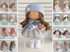 Muñeca muñeca de tela muñeca Tilda muñecas trapo Muñecas muñeca arte de Interior textil hecha a mano muñeca muñeca muñeca muñeca de paño gris muñeca bebé por María __________________________________________________________________________________________ Hola, queridos visitantes!