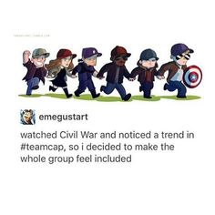 This is great//pretty sure they were all seen in a cap at SOME point around filming