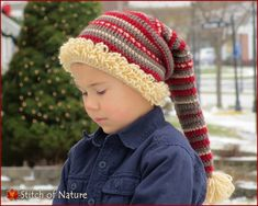 5f8c6e9896b The Snowland Stocking Hat crochet pattern by Stitch of Nature