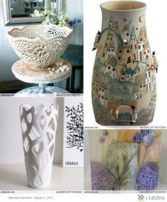 subtractive vase project? create a vase then take parts of it away.