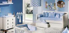 Cuartos infantiles en azul Serenity - http://www.decoora.com/cuartos-infantiles-en-azul-serenity/