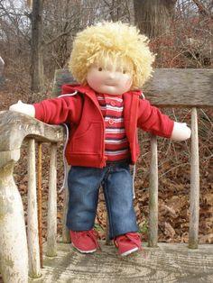 Waldorf Boy Doll via Etsy.