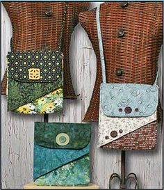 Flip Flap Bag Pattern by WhistlePig Creek in PDF Format