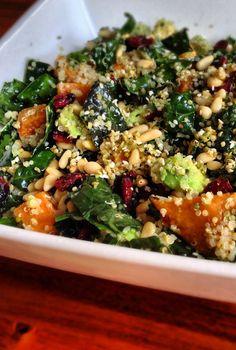 Loving Earth - Recipes - Kale Super Salad. Subtract quiona