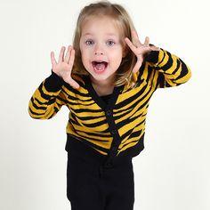 Купить товарМода тигр леопардовый девушка caidgan свитер свободного покроя…