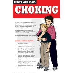 First Aid for Choking Poster