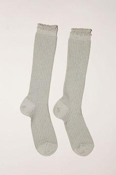 Polder Pylonette Sock in Light Grey