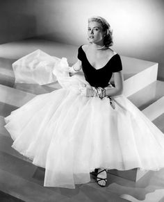 One of the most elegant ladies to ever grace the screen. So fitting that she would become the Princess of Monaco.
