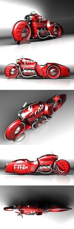 ГЛ-2м / GL-2m la tal moto , puro diseño