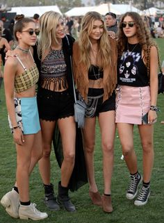 Okay, we want all these #Coachella outfits, like now.