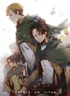 Attack on Titan. We discovered this anime on netflix. Really good, pretty violent though.