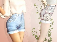 Hii guys, today I bring to you a short version of reckless jeans; I made some changes in texture and now it is not so grainy, it has a softer and comfortable appearence :) hope you like it!! Found...