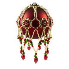 Glimmer ornament cover pattern