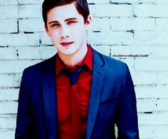 """Find and save images from the """"Logan Lerman collection by Yolanda Nurhan (yolandanu) on We Heart It, your everyday app to get lost in what you love."""