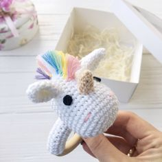 Crochet unicorn Baby rattle personalized name toy Natural stuffed animal Crochet teether ring Baby shower gift Rainbow unicorn teether, Flamingo Pattern, Crochet Unicorn Pattern, Crochet Patterns, Baby Girl Toys, Toys For Girls, Newborn Baby Gifts, Baby Girl Newborn, Baby Baby, Crochet Gifts
