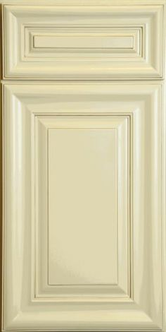 Creme Painted Finish w/ Mocha Highlight Full Overlay Door | kitchen and bathroom cabinets by Kitchen  Cabinet Kings - Buy Discounted Kitchen Cabinets & Bathroom Cabinets Online at Wholesale Prices!