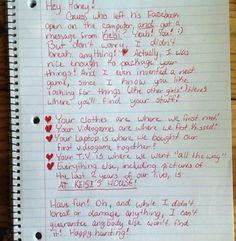 Best Breakup Letter I've Seen