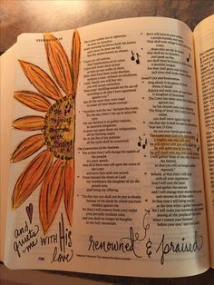 Bible Journaling found on Write Your Story on my (heart)