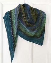 Ravelry: Noro Woven Stitch Shawl pattern by Z apasi free pattern