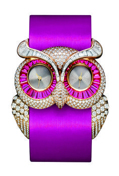 Chopard's Owl Watch... omgomgomgomgomg weee soo coool!! *im literally squealing while typing this so excuse the poor grammar* =P