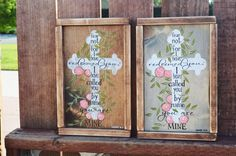 Check out this item in my Etsy shop https://www.etsy.com/listing/494069501/isaiah-4331-cross-rustic-wooden-sign