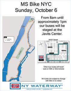 #Sunday #October62013 #bus #advisory #nywaterway #nyc