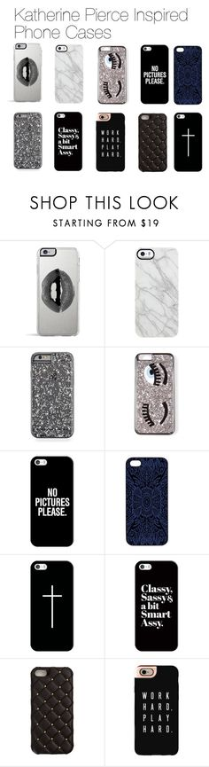 """Katherine Pierce Inspired Phones Cases"" by mytvdstyle ❤ liked on Polyvore featuring Lipsy, Uncommon, Casetify, Samantha Warren London, 2Me Style, Inspired, tvd and thevampirediaries"