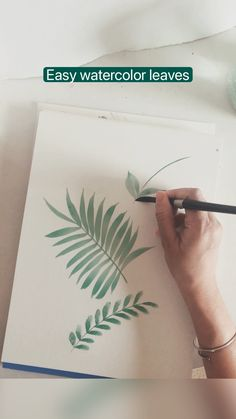 Watercolor Painting Tutorials, How To Watercolor, Watercolor Paintings For Beginners, Watercolor Art Lessons, Watercolor Techniques, Diy Painting, Watercolor Flowers, Waterpaint Ideas, Art Painting Gallery