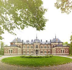 Malmgårdin kartano (Malmgård mansion), Loviisa 1885 - Finland