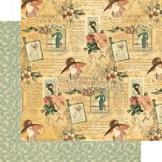 papier A Ladies's Diary - Picture Perfect