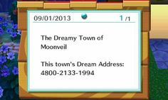 Creepiest dream address I've been to, yet. Check it out.