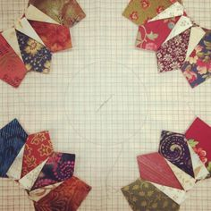 Or maybe Dresden Beauty, patterns available soon from Laundry Basket Quilts.- Laundry Basket Quilts