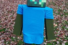 """""""Minecraft Zombie Costume"""" by Blue Falcon on @DIY"""