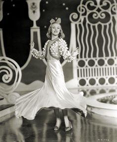 """Ginger Rogers """"Shall We Dance"""", 1937."""