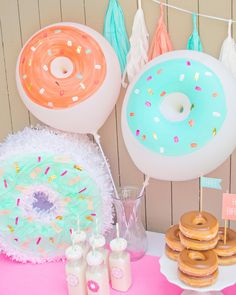 Donut Balloons - Fancy That: Party Supplies and Gifts - 3