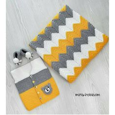 Easy Crochet Blanket, Afghan Crochet Patterns, Knitted Blankets, Baby Knitting Patterns, Chevron Crochet, Crochet Bebe, Cowboy Crochet, Diy Crafts Crochet, Crochet Clutch
