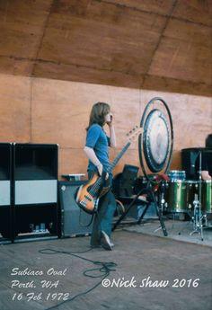 John Paul Jones ofLed Zeppelin performing in Australia in 1972 2