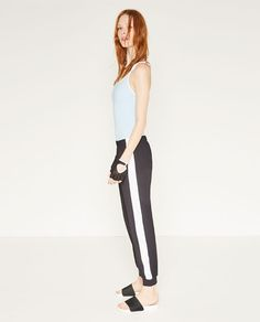 ZARA - NEW IN - TROUSERS WITH SIDE STRIPES