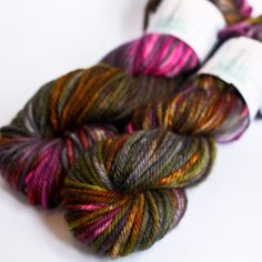 New Moon {Jolie Bulky} by Becoming Art yarn. A bunch of gorgeous colorways!
