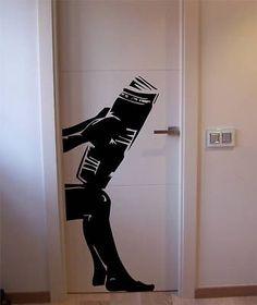 Original sticker for the rest room ;