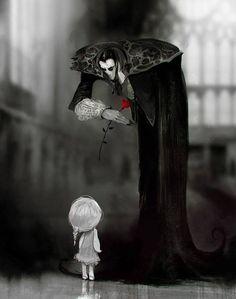 All Vampire. All The Time (Gallery - Gothic Life Fantasy Kunst, Dark Fantasy Art, Art And Illustration, Arte Obscura, Vampire Art, Arte Horror, Horror Art, Creepy Art, Gothic Art