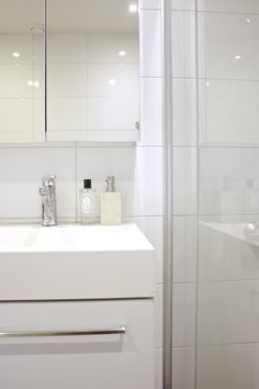 Homevialaura | Timeless and minimal bathroom | IKEA Godmorgon