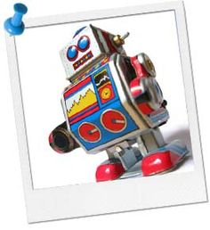 Robot Party Ideas - games, favors, invitations, wording