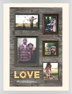 Photo Real Love Framed Print, White, Contemporary, None, Cream, Single piece, 24 x 36 inches, Brown