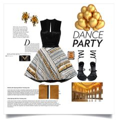 """""""Dance Party"""" by shoecraycray ❤ liked on Polyvore featuring Anja, René Caovilla, FAUSTO PUGLISI, Valentino, LE VIAN, Sevan Biçakçi, Isabel Marant and Clare V."""