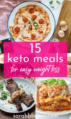 These 15 Keto Meals are quick and easy to make and taste so delicious even kids will love them! Healthy Recipes On A Budget, Low Carb Recipes, Great Recipes, Dinner Recipes, Cooking Recipes, Frugal Recipes, Family Recipes, Amazing Recipes, Delicious Recipes