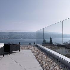 Pergolas For Sale At Lowes Balcony Glass Design, Glass Balcony Railing, Patio Railing, Balcony Grill, Balcony Railing Design, Staircase Railings, Terrazzo, Veranda Railing, Brick Cafe